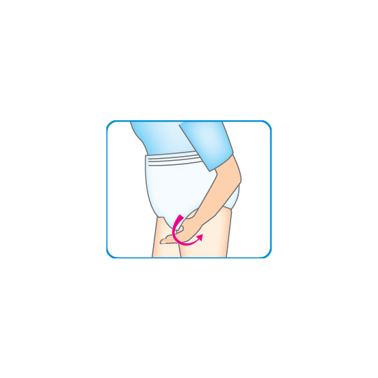 Pant Super Absorbency how to use 5